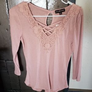 Almost Famous ladies top